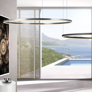 s.LUCE Ring 150 LED-Hängeleuchte 5m Aufhängung Hängelampe Ringleuchte