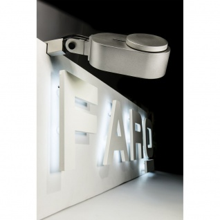 LED Klemmleuchte INVINTING 6W 2700K-4800K IP20 Grau