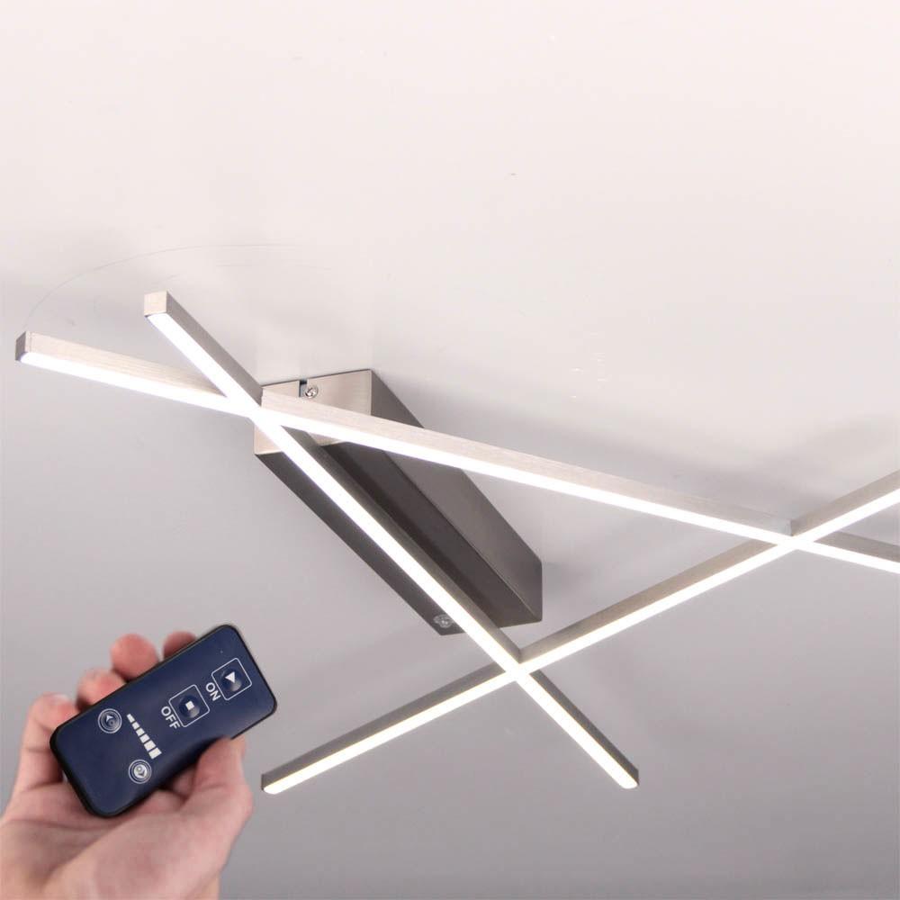 licht trend tramos led deckenleuchte 24w led dimmbar mit fernbedienung deckenlampe kaufen bei. Black Bedroom Furniture Sets. Home Design Ideas