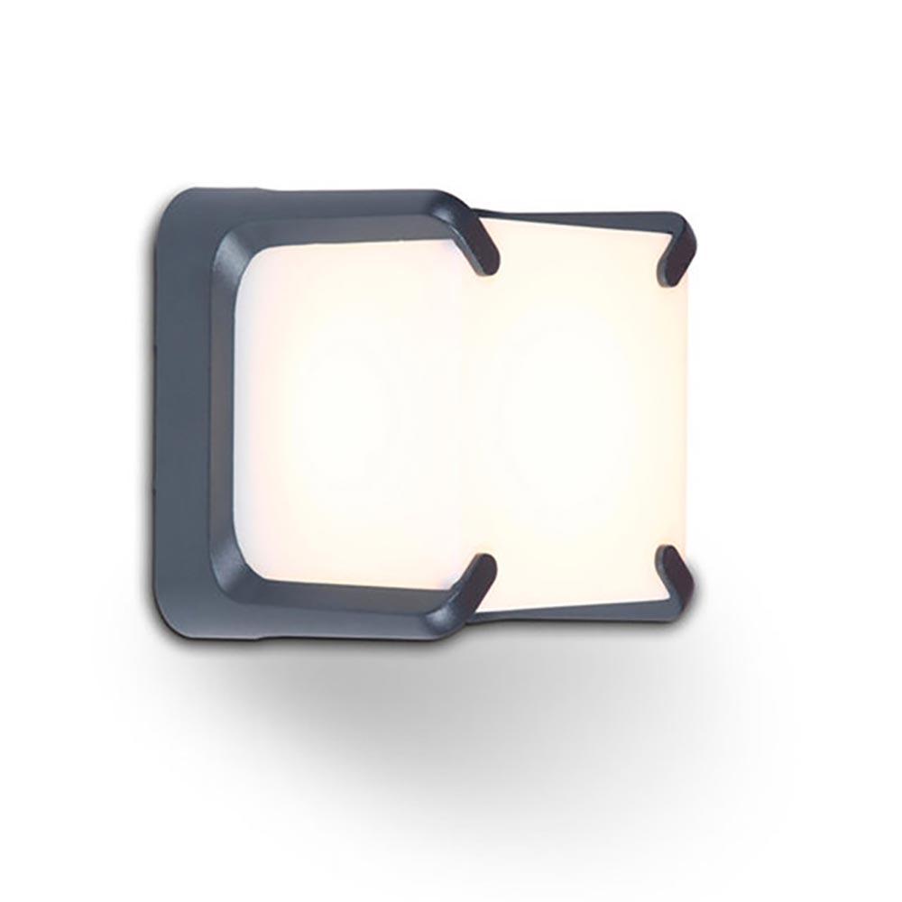 Lutec LED Wand-Aussenleuchte Armor 560lm IP54 Anthrazit