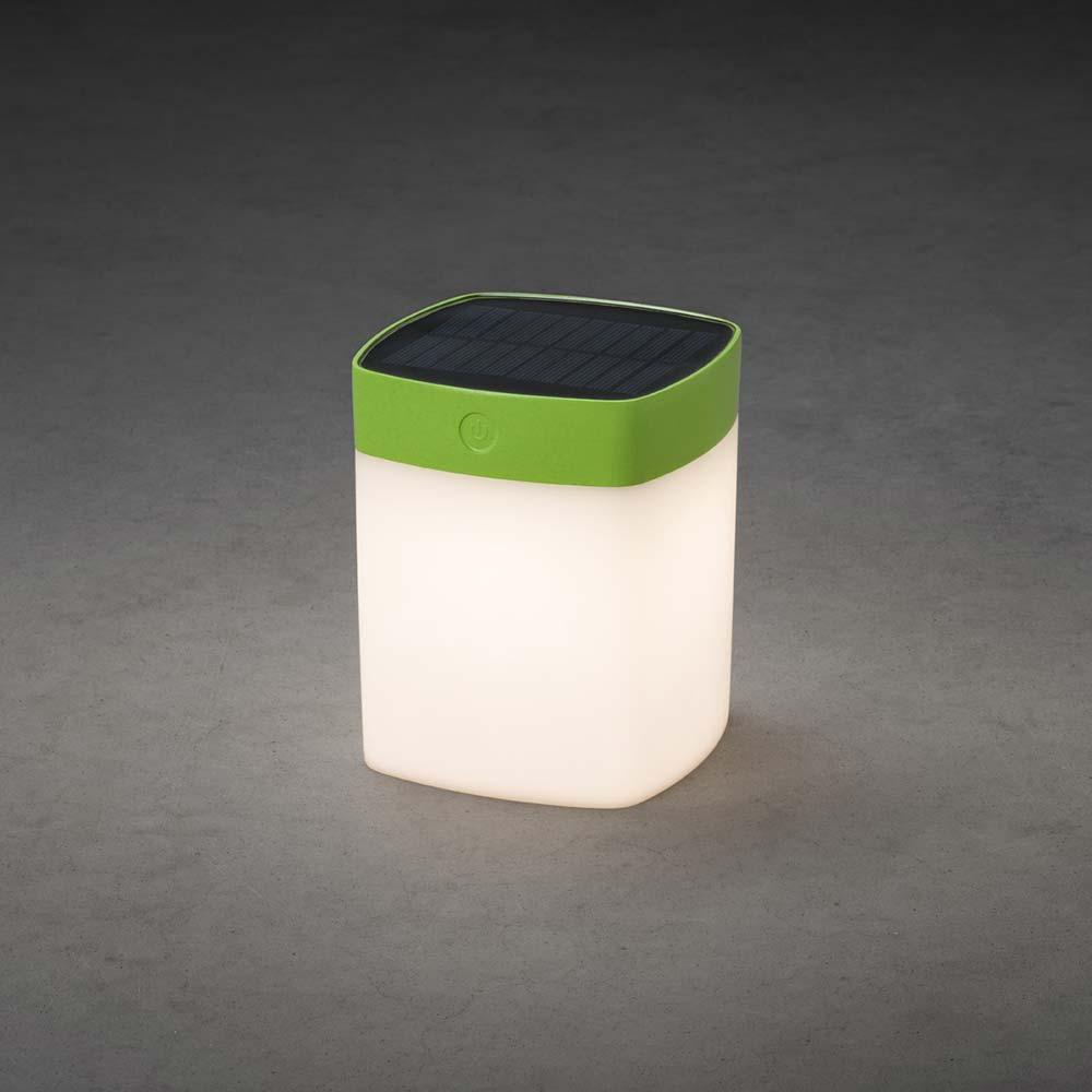 LED Solarleuchte Assisi Grün, opales Acrylglas Solar Gartenlampe Gartenleuchte Gartenleuchte Gartenleuchte 193369