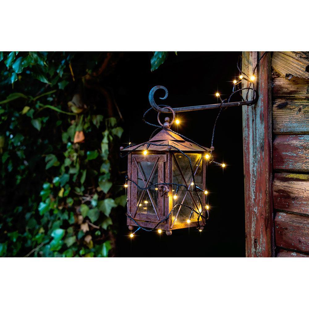 konstsmide 3813 100 micro led lichterkette gefrostet 200 warmweisse dioden 24v au entrafo. Black Bedroom Furniture Sets. Home Design Ideas