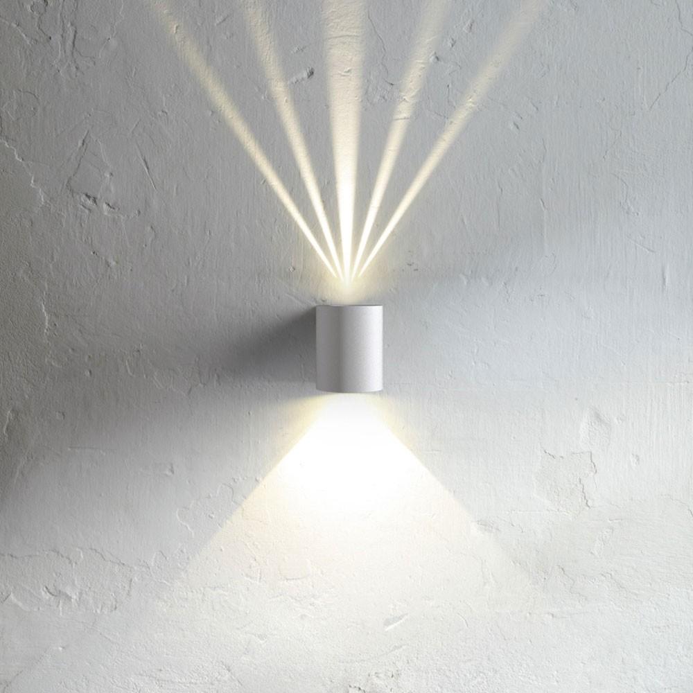 licht trend baleno led wandleuchte f r aussen und innen. Black Bedroom Furniture Sets. Home Design Ideas