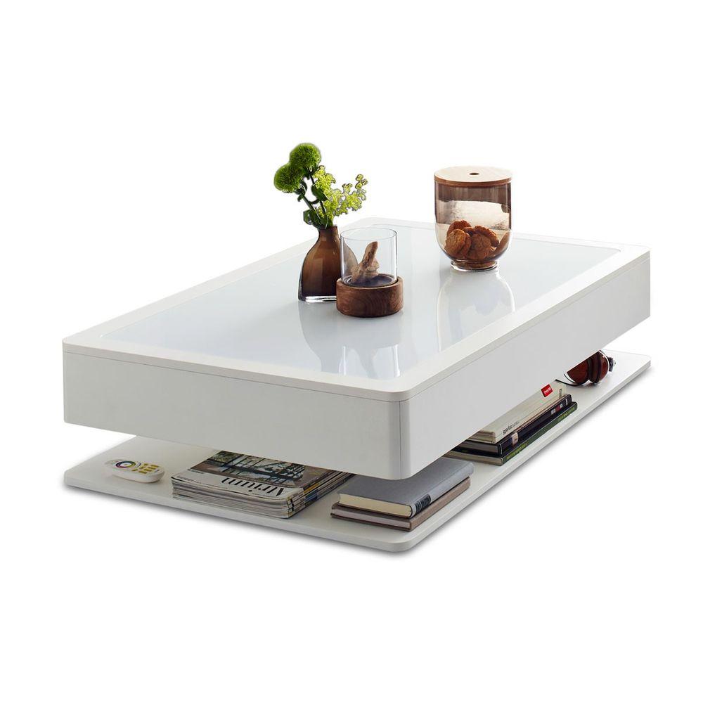 Moree Ora Home Couchtisch Weiss (ohne Beleuchtung) Tische 1 ...