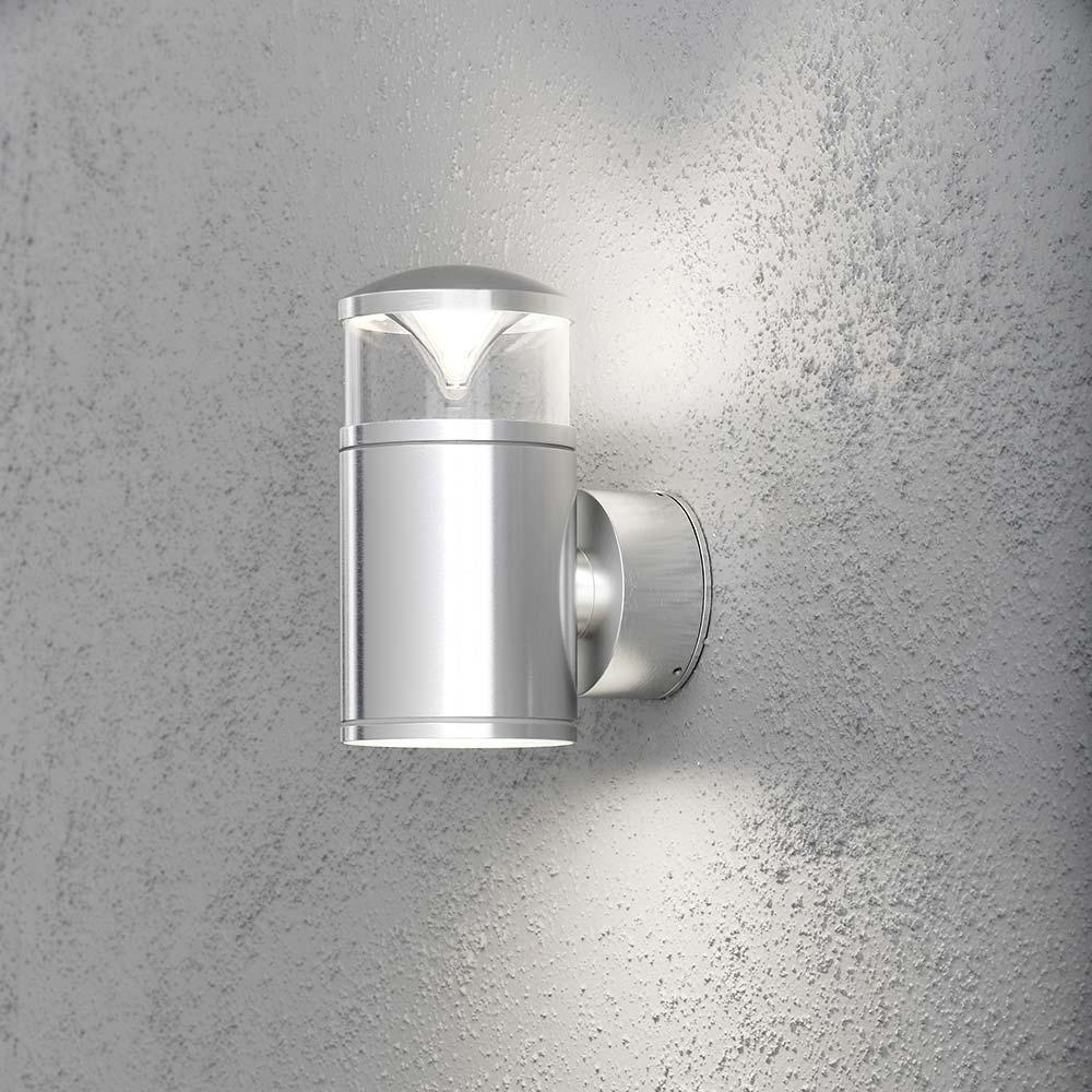 Konstsmide 7905-310 Monza Energiespar Aussen-Wandleuchte Aussen-Wandleuchte Aussen-Wandleuchte mit doppeltem Lichtkegel klares Glas Reflektor 106d55