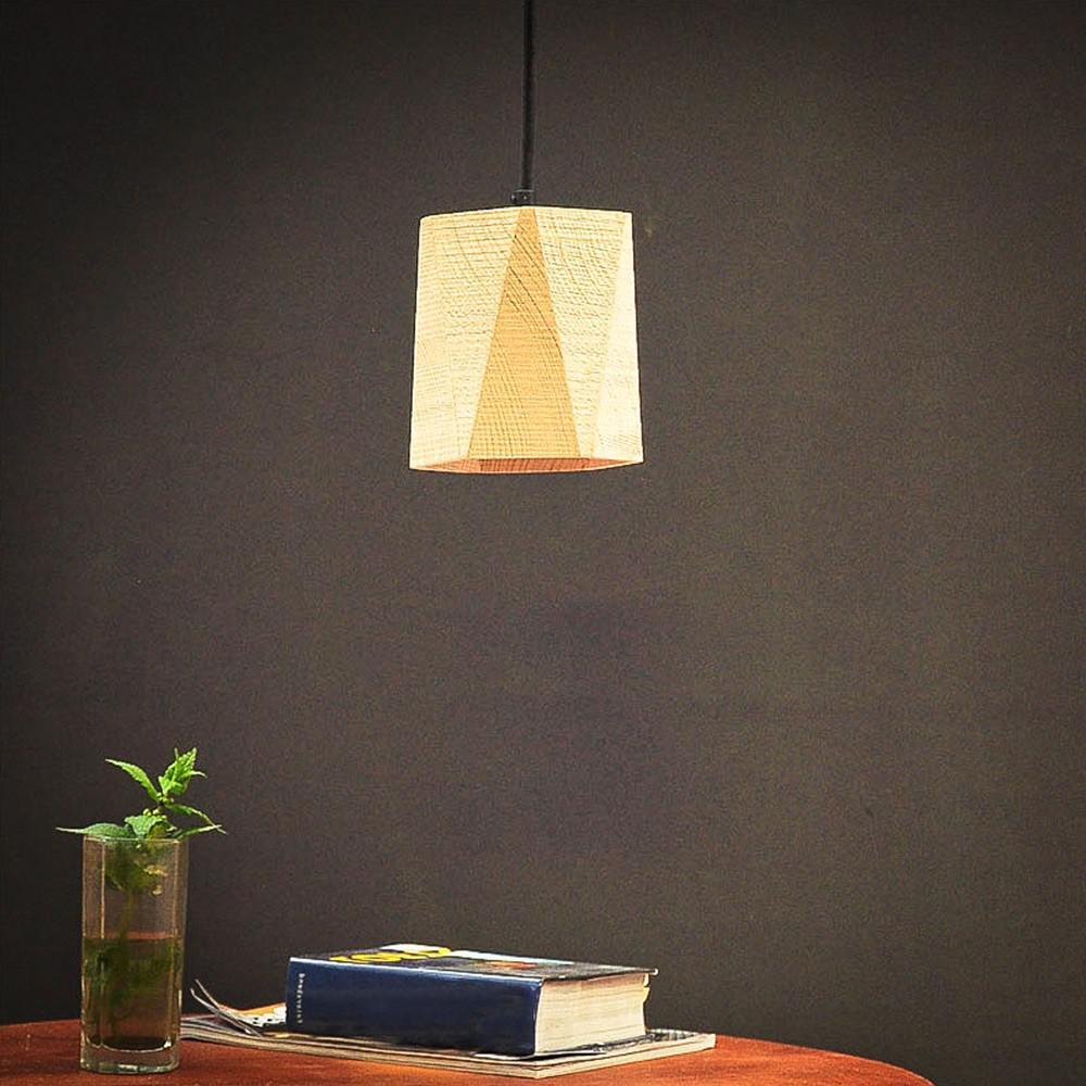 Almleuchten H5 Altholz Hangeleuchte mit Lichtschlitz faszinierende Holzlampe