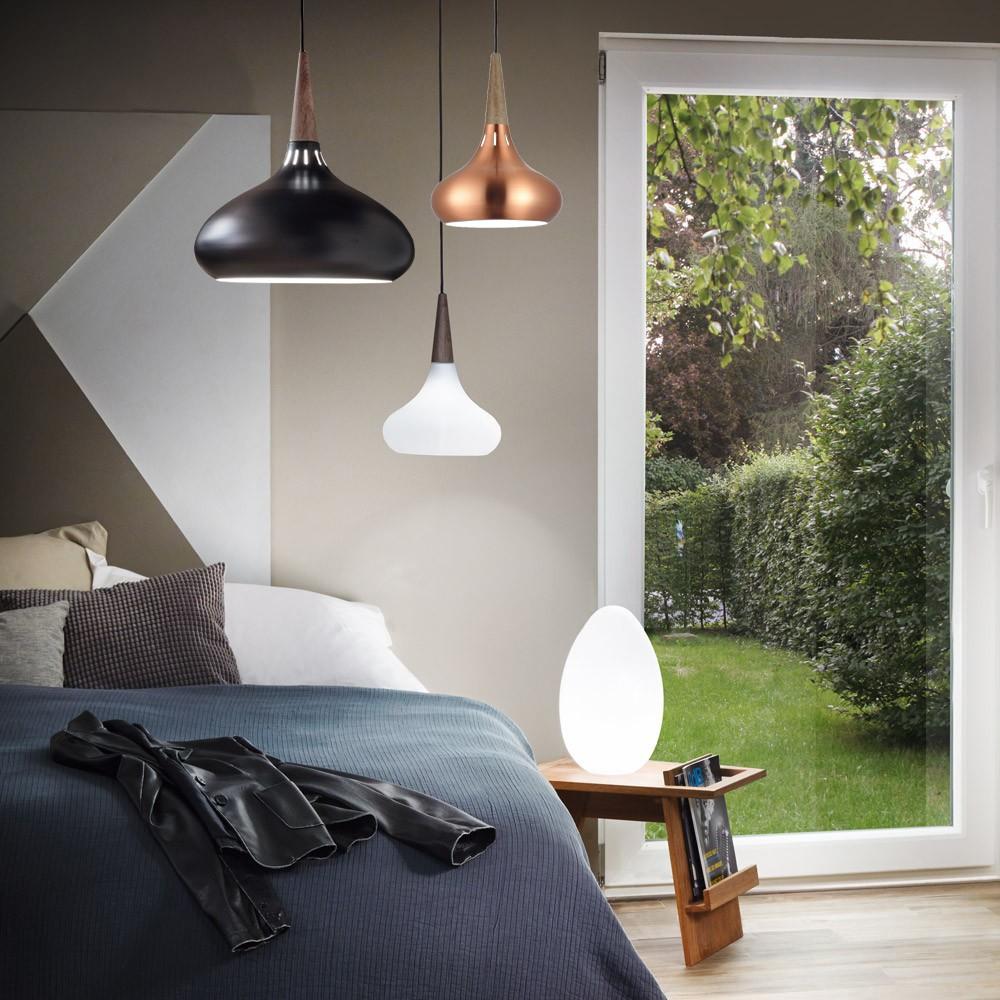 s luce chic 42 stilvolle h ngeleuchte mit holzoptik kupfer e27 h ngelampe kaufen bei. Black Bedroom Furniture Sets. Home Design Ideas