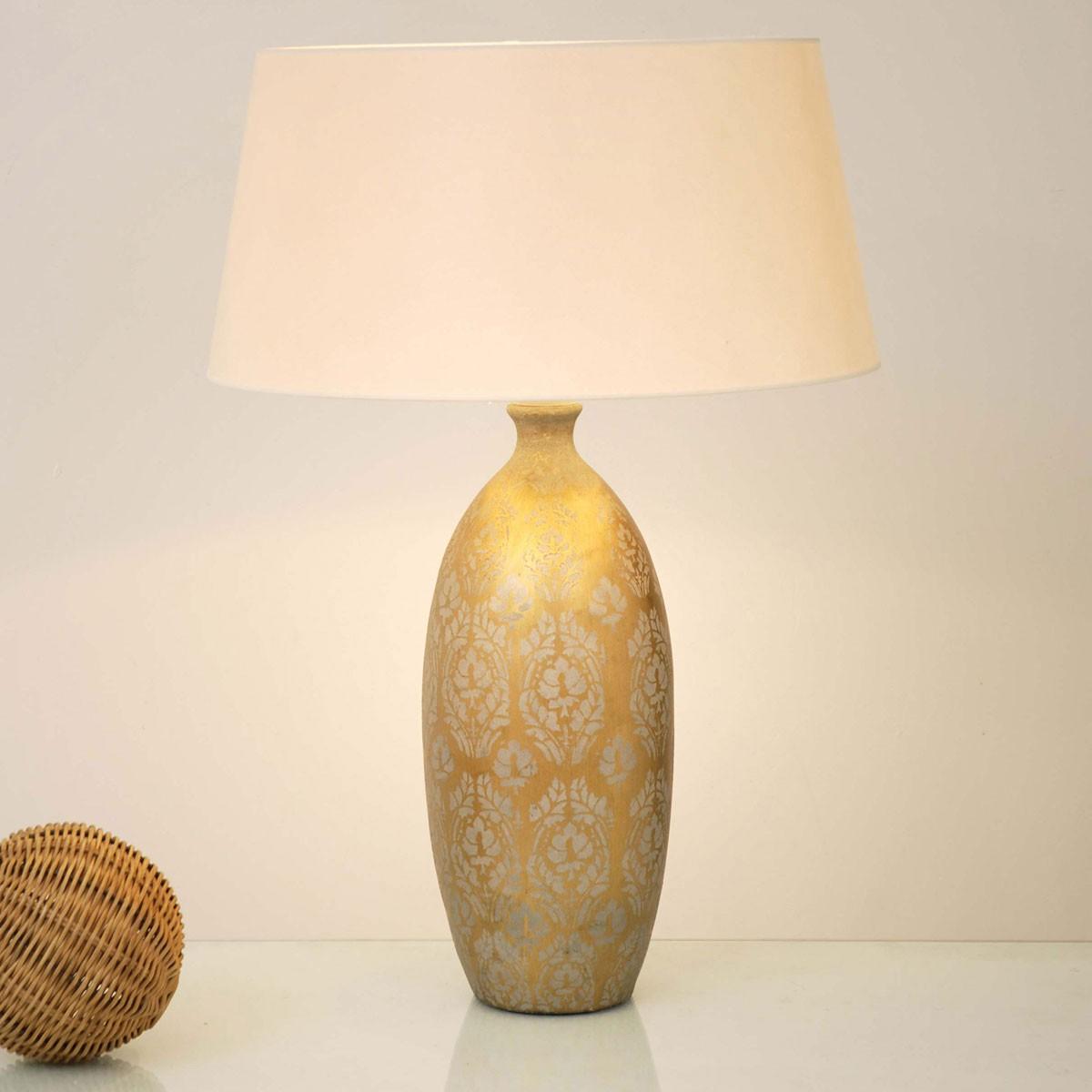 holl nder 432 k 1210 tischleuchte vaso barocco keramik. Black Bedroom Furniture Sets. Home Design Ideas