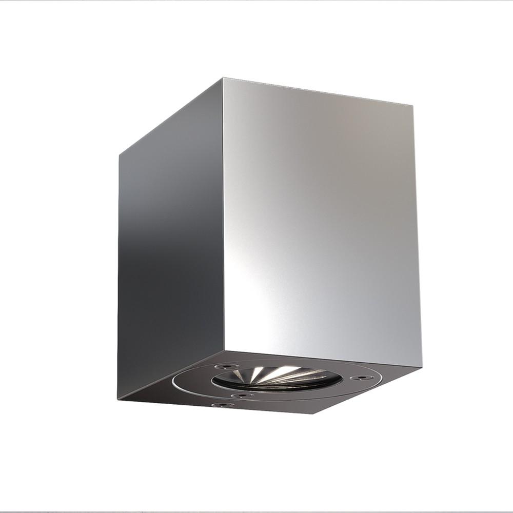 nordlux canto kubi led aussen wandleuchte edelstahl wandlampe aussen kaufen bei licht design. Black Bedroom Furniture Sets. Home Design Ideas