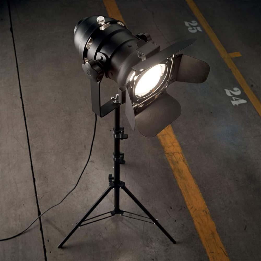 Ideal Lux 138527 Movie Bühnenstrahler Stehleuchte verstellbar ...