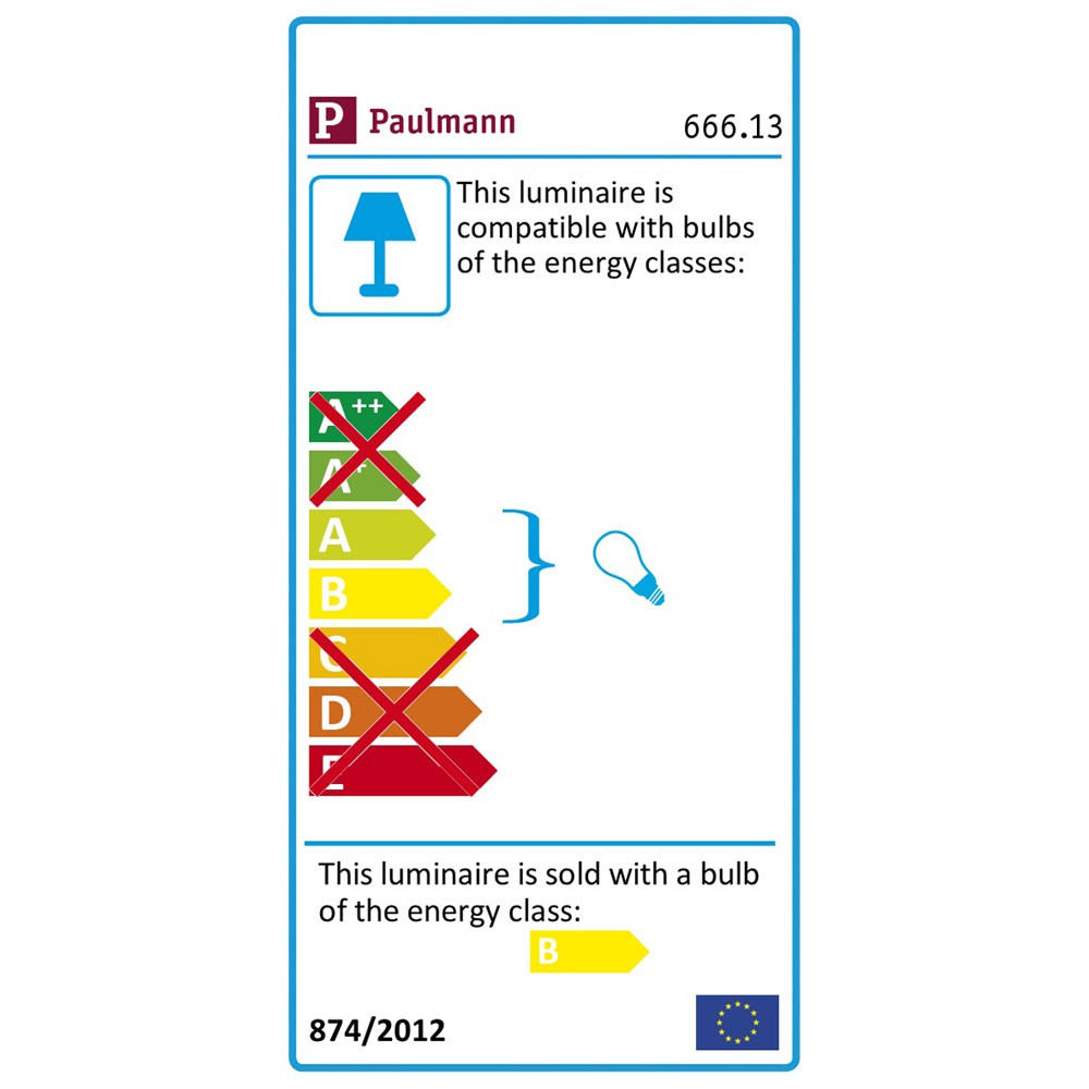 Paulmann 666.13 Mega Strahler Balken Spotlights 4x11W ESL Weiss 66613