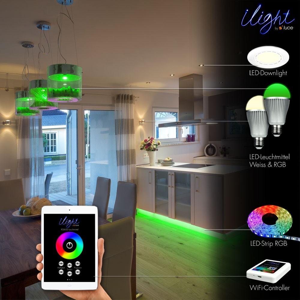 s luce ilight funk controller f r led strips rgbw wifi steuerung zubeh r kaufen bei licht. Black Bedroom Furniture Sets. Home Design Ideas