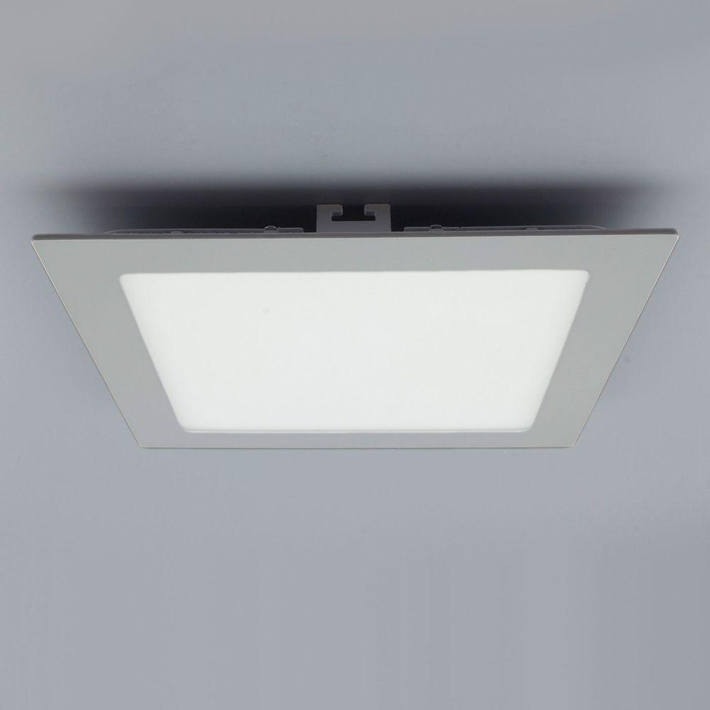 licht design 30565 einbau led panel 1440lm 22x22cm kalt silber kaufen bei licht design. Black Bedroom Furniture Sets. Home Design Ideas