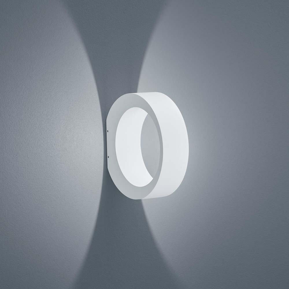 Helestra LED Außen-Wandlampe Außen-Wandlampe Außen-Wandlampe Clif IP65 Weiss-Matt 6bd98e