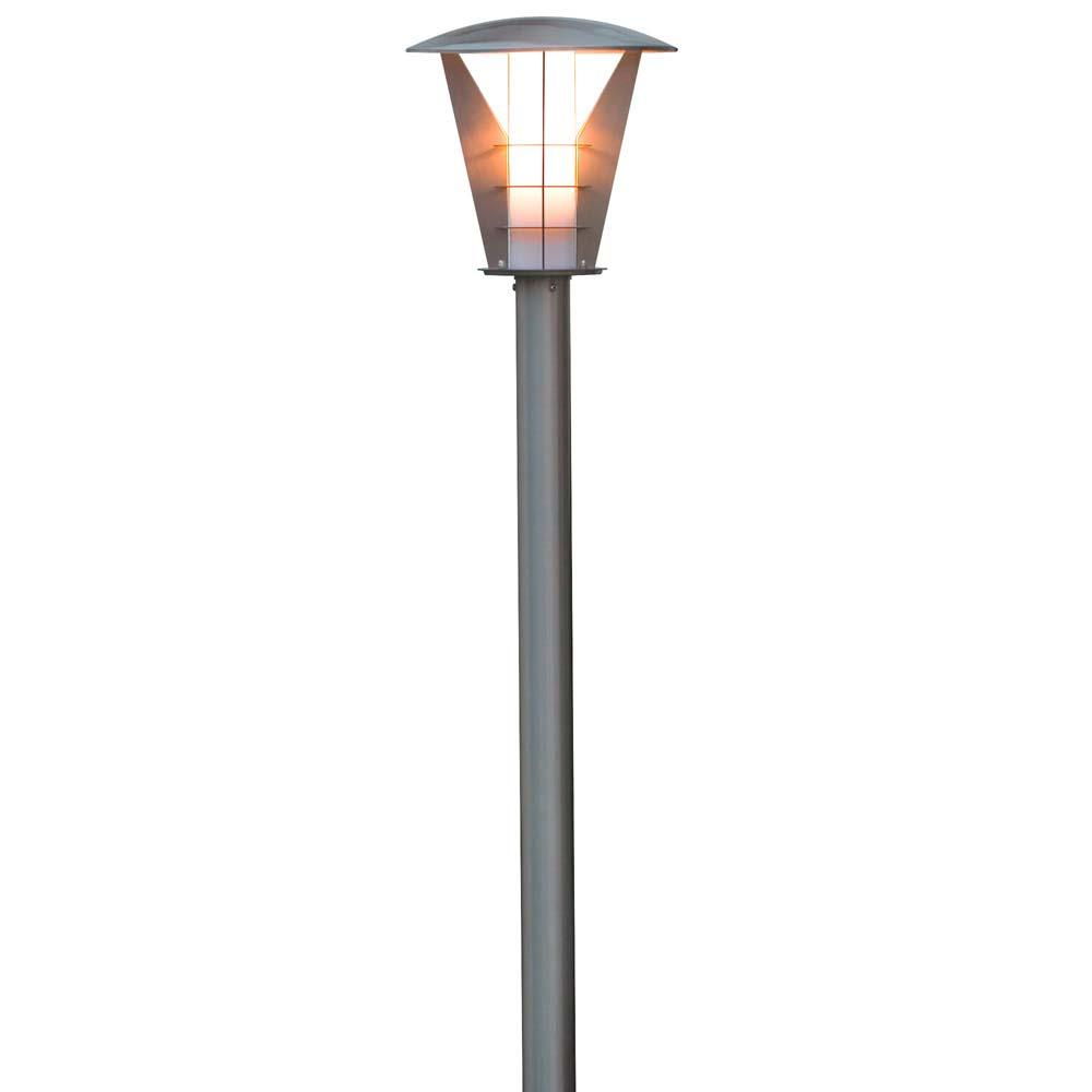 Konstsmide 7344-000 Livorno Energiespar Wegeleuchte Edelstahl Edelstahl Edelstahl opales Acrylglas 397efc