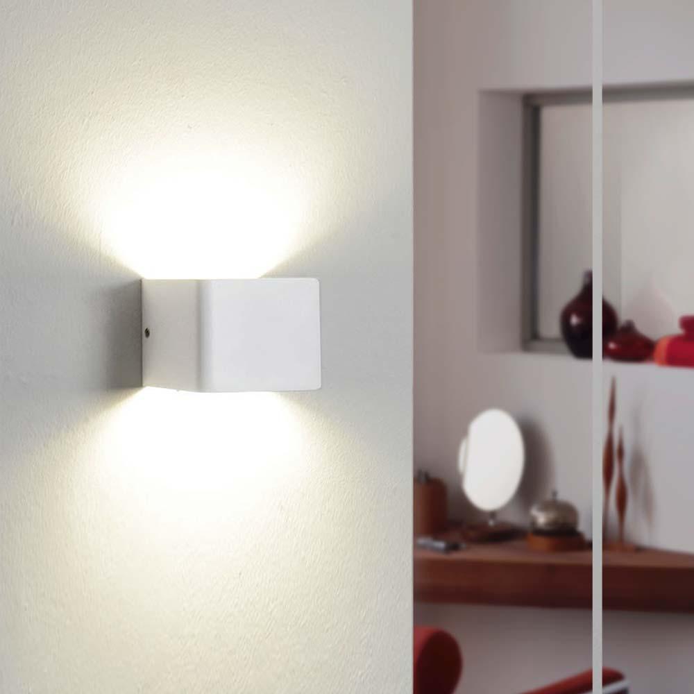 s luce gore led wandleuchte up down wandlampe wandleuchte weiss kaufen bei licht design. Black Bedroom Furniture Sets. Home Design Ideas