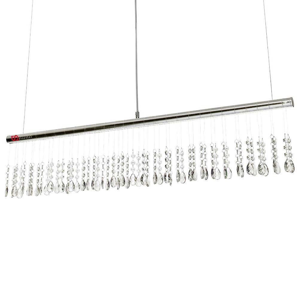 leuchtendirekt 15037 17 ida led pendelleuchte chrom 1000 x 140 mm h ngelampe kaufen bei licht. Black Bedroom Furniture Sets. Home Design Ideas