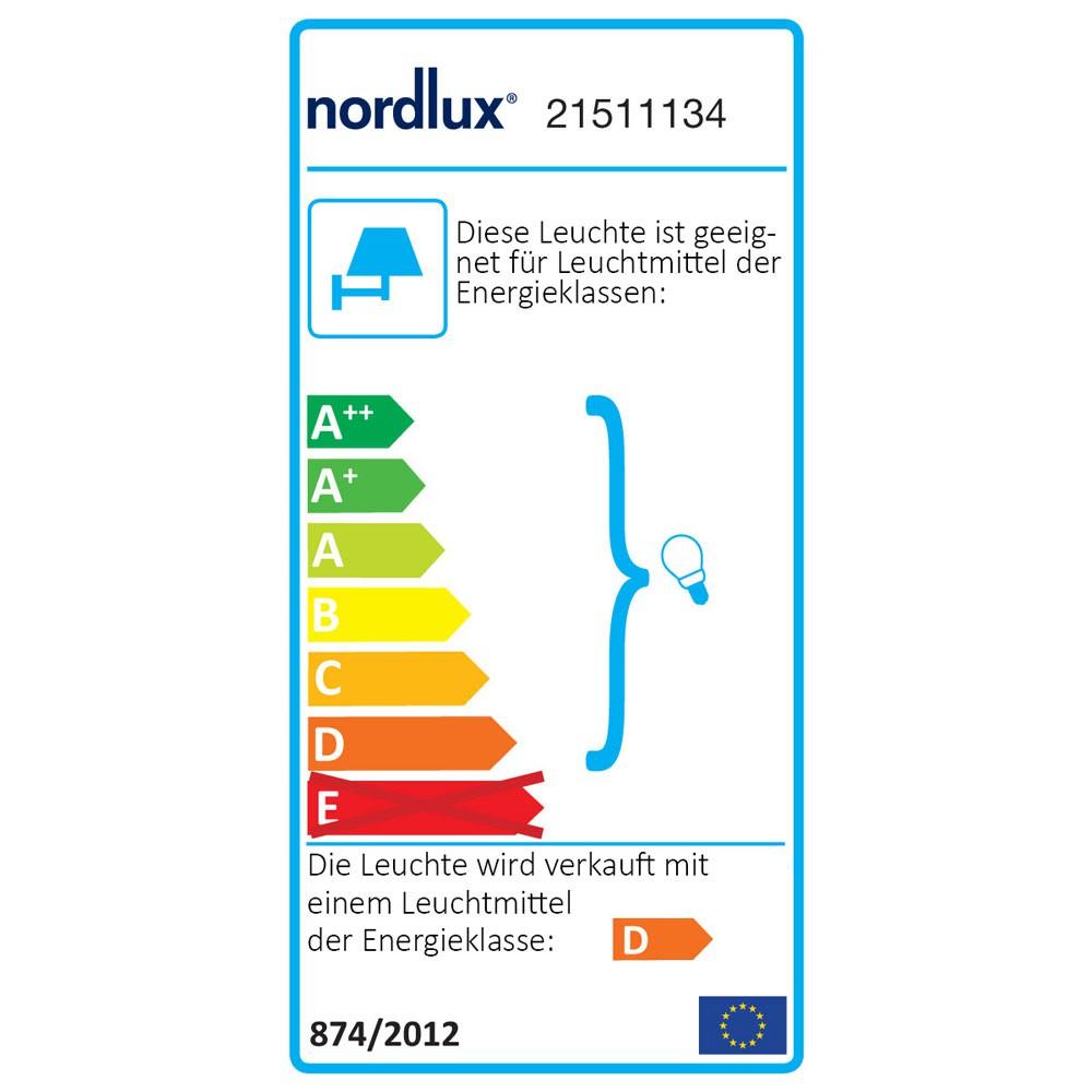 Nordlux Tin Tin Tin Maxi Aussen-Wandleuchte IP54 Edelstahl 2c201d