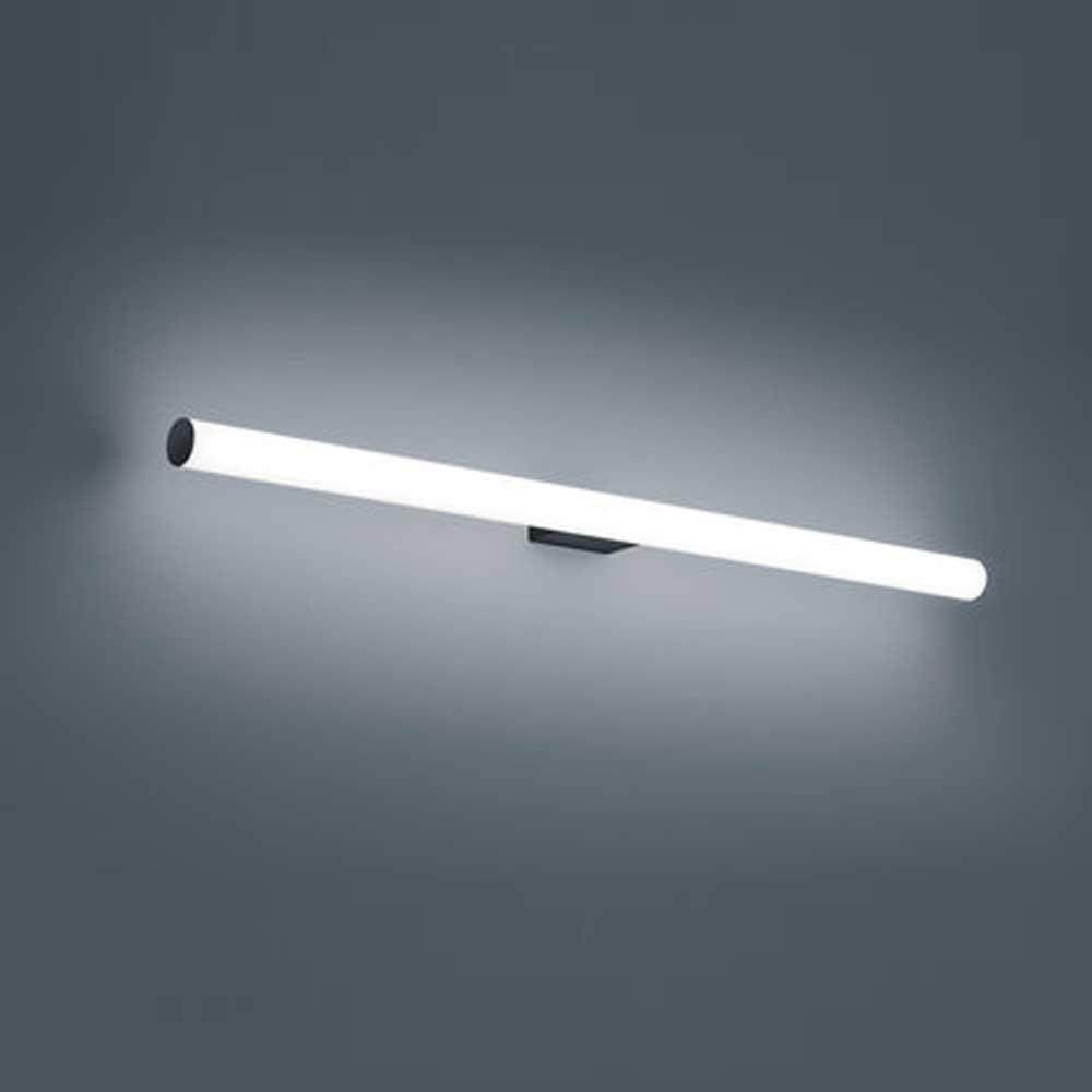 Helestra LED Bad Spiegelleuchte Loom 20cm 20lm Schwarz Warmweiß