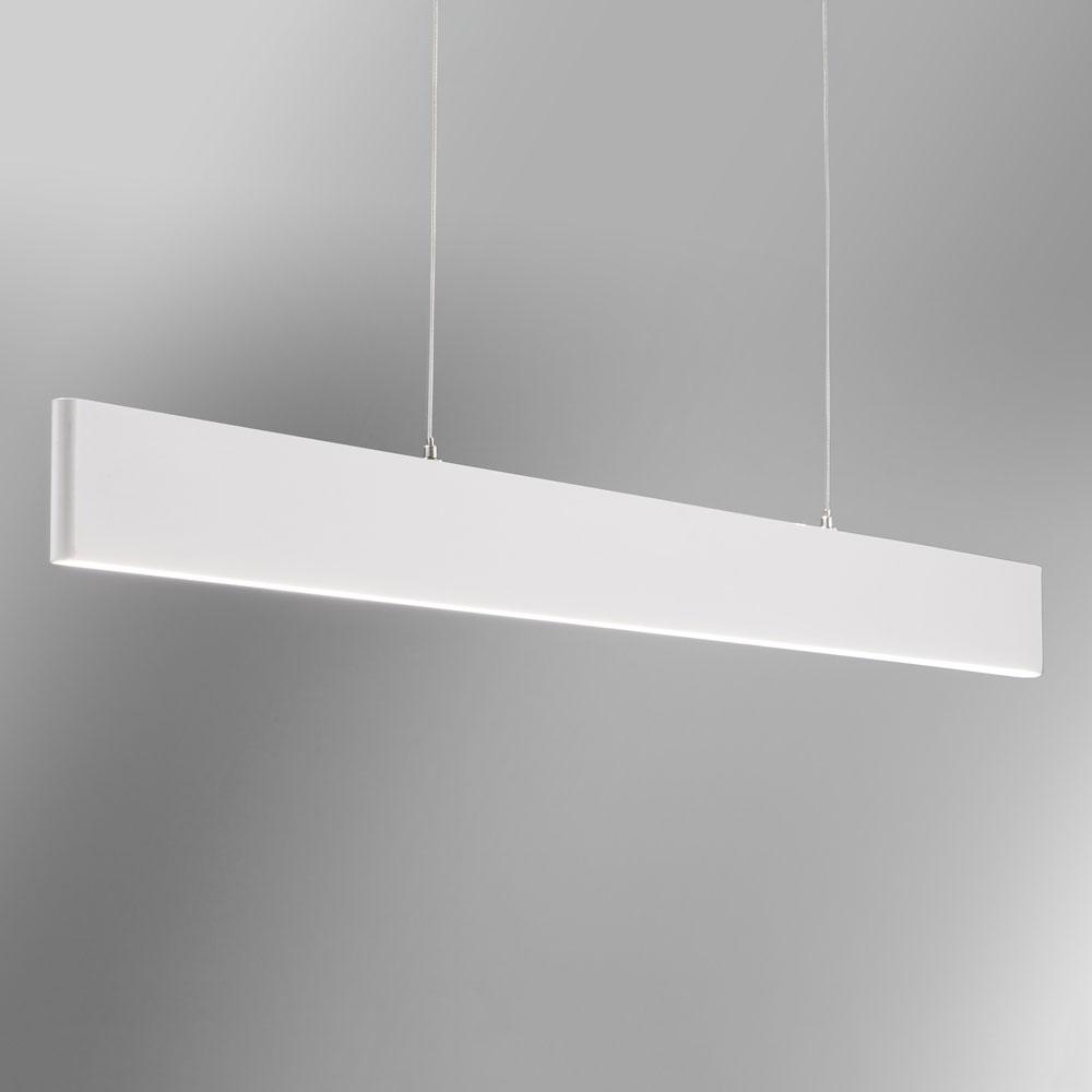 Verschiedene Led Hängeleuchte Dekoration Von Licht-trend Slim Led-hängeleuchte Dimmbar 2730lm Esstischlampe Weiss