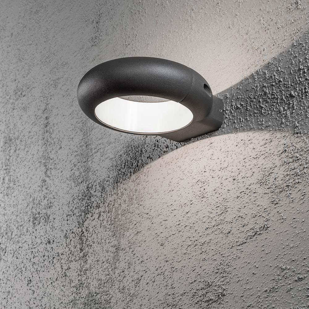 konstsmide 7950 370 rovigo led aussen wandleuchte. Black Bedroom Furniture Sets. Home Design Ideas