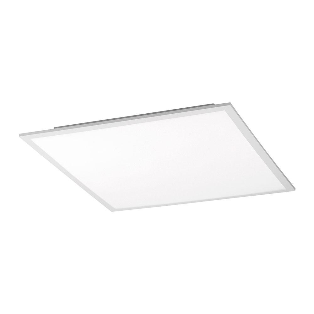 LeuchtenDirekt 14630-16 Flat LED Deckenleuchte + Fb. 1x 20W RGB 3000K Weiss