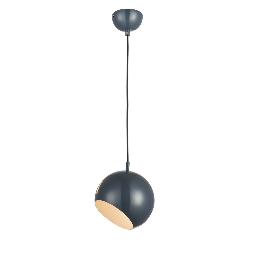 s luce ball pendelleuchte verstellbar 20 cm h ngelampe pendellampe grau kaufen bei. Black Bedroom Furniture Sets. Home Design Ideas