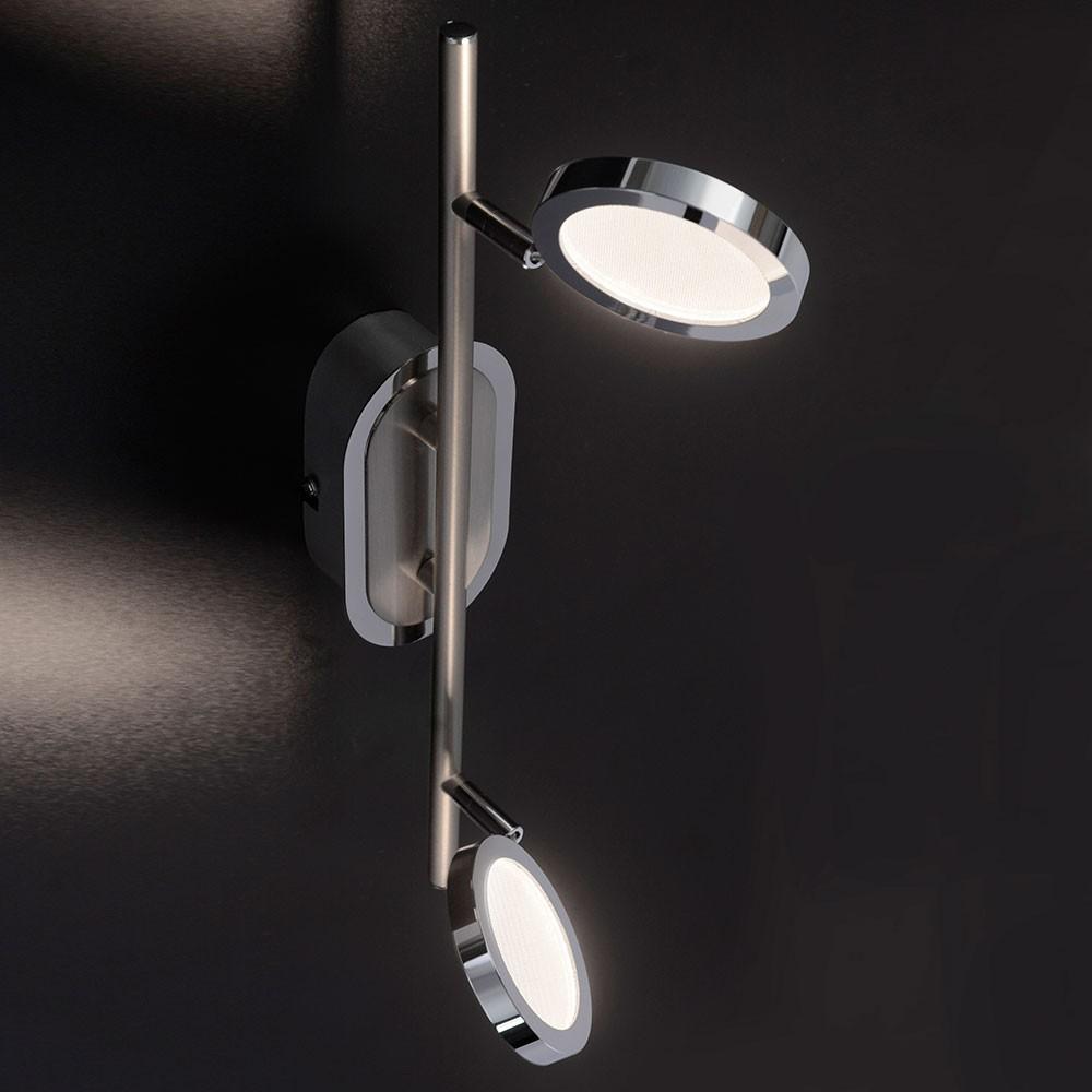 Paul Neuhaus 8512-55 Nola LED Deckenleuchte dreh- & schwenkbar 2 x 4, 60W 3000K