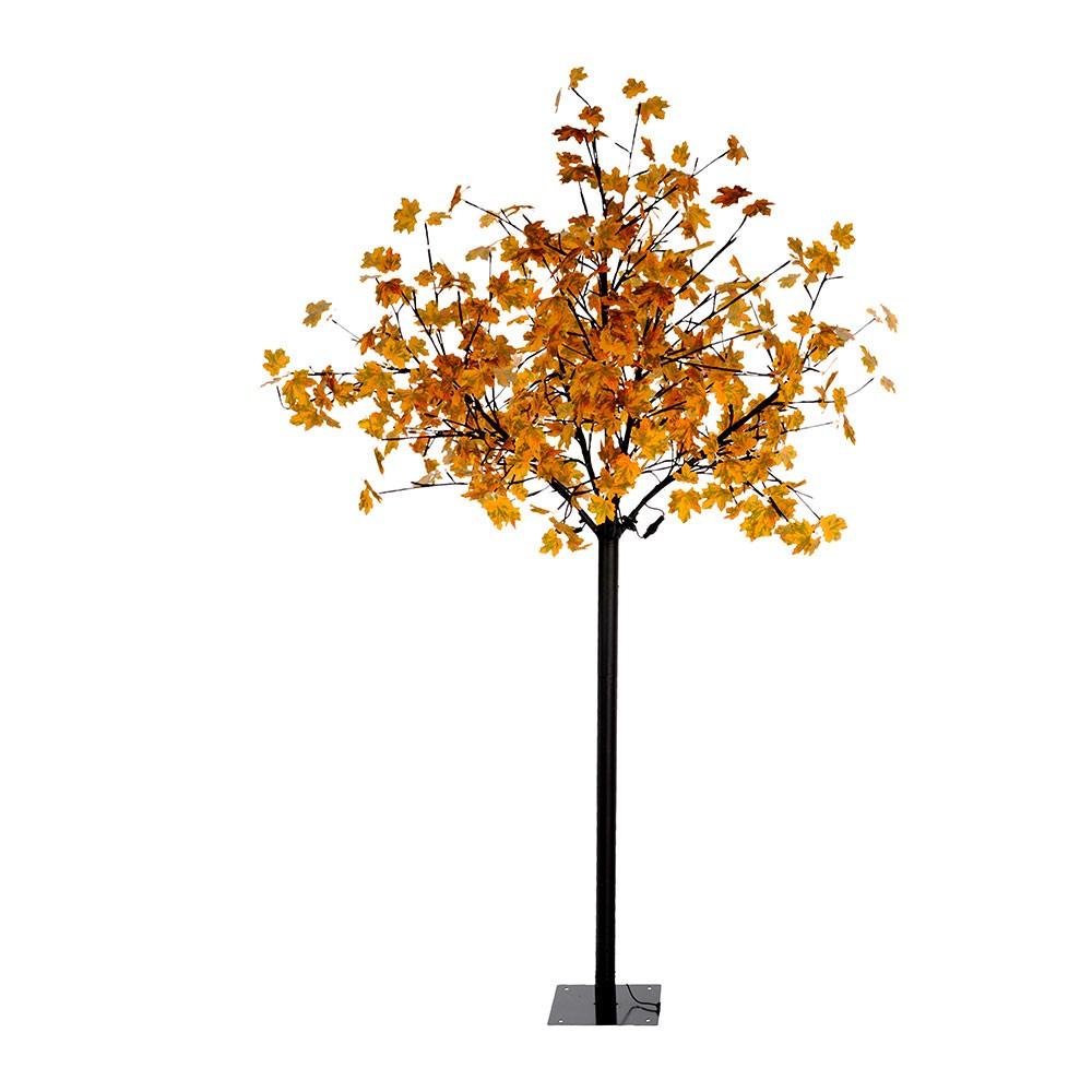 Leuchtendirekt 86135 18 Led Baum 210cm 450 X 0 03w 3000k Ip44 Schwarz