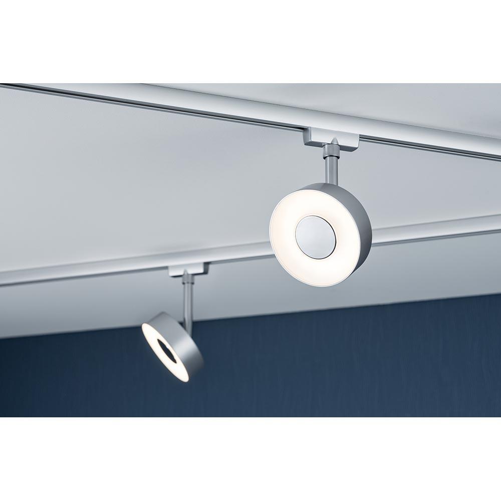 paulmann 95271 urail system led spot circle 1x5w chrom matt schienensystem 230v kaufen bei. Black Bedroom Furniture Sets. Home Design Ideas