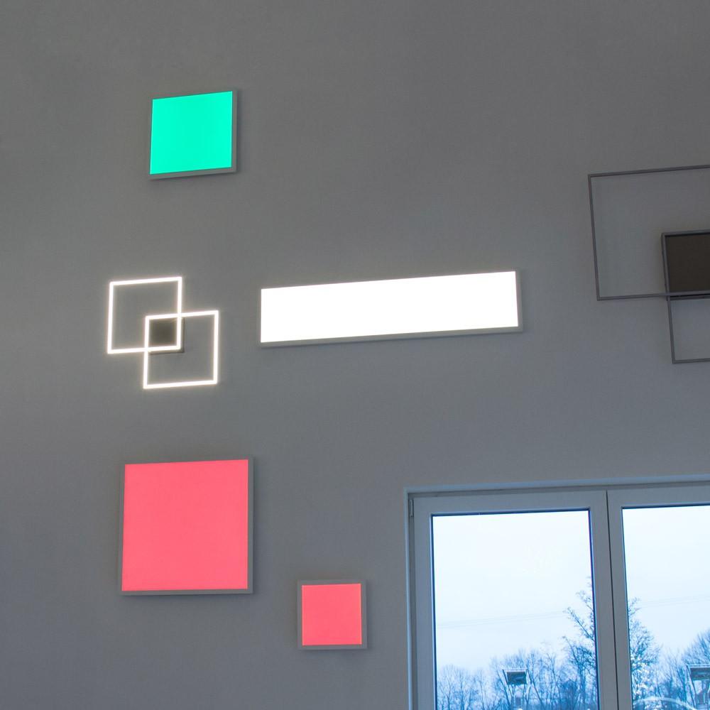 connect led panel 30x30 cm 2000 lumen 16w rgb cct led deckenleuchte lampe kaufen bei licht. Black Bedroom Furniture Sets. Home Design Ideas