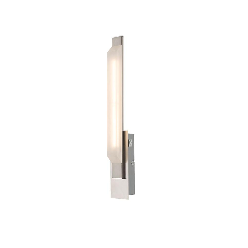 Globo 68056W Lombardia Wandleuchte Nickel-Matt LED