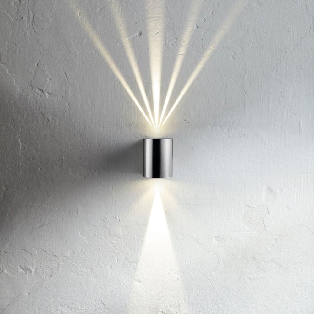 Licht Trend Baleno Led Wandleuchte Updown Mit Lichtfilter Edelstahl