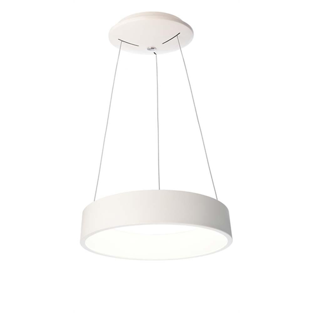 Licht Trend LED Pendelleuchte Loop 45cm Ring 1100lm dimmbar Warmweiß