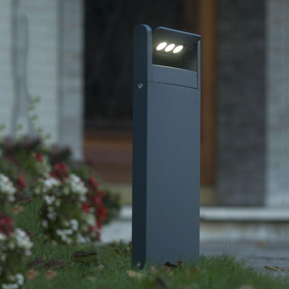 Lutec Lutec Lutec LED Spot einstellbare Wegeleuchte 52, 6cm IP65 Anthrazit 101c91
