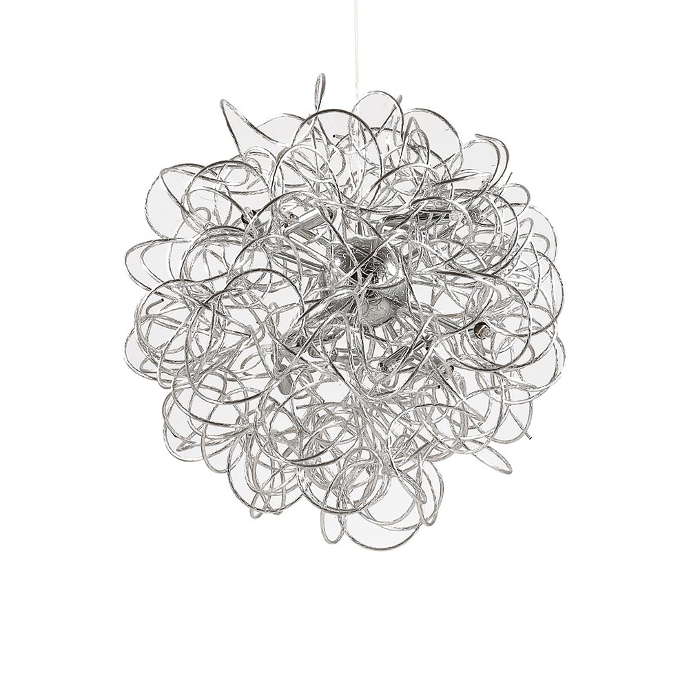 ideal lux dust draht pendelleuchte 62cm h ngelampe h ngeleuchte chrom kaufen bei licht. Black Bedroom Furniture Sets. Home Design Ideas