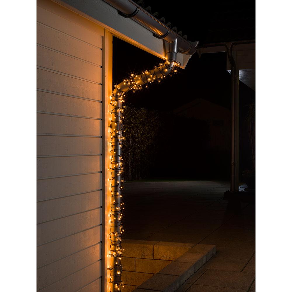 LED Lichtschlauch Silhouette Schneemann 72x46cm außen 800-88 Snowman xmas