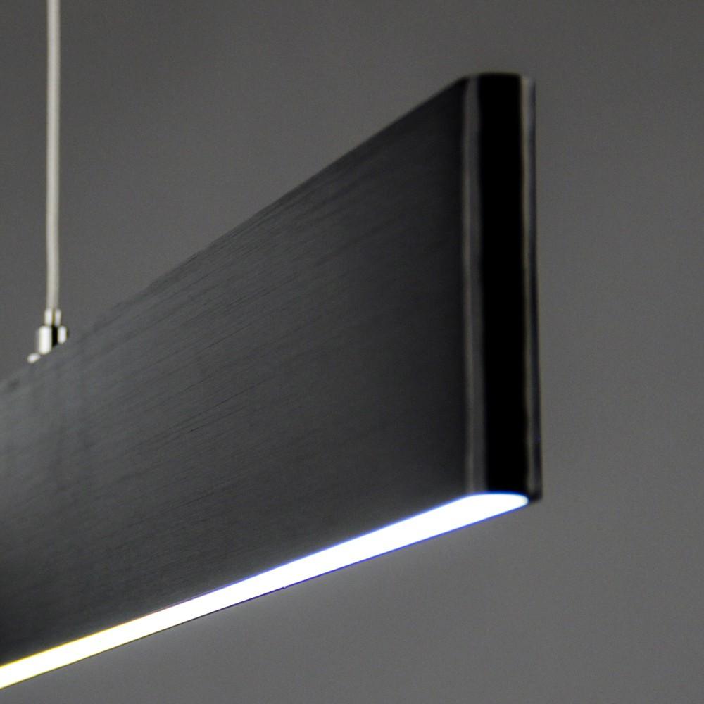 Esstisch lampe esstisch lampe led holz led profil haus dekoration lichttrend slim dimmbar lumen schwarz parisarafo Image collections