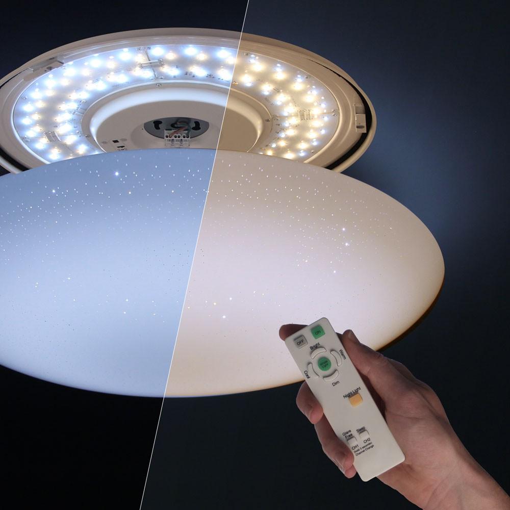 deckenlampe led mit fernbedienung