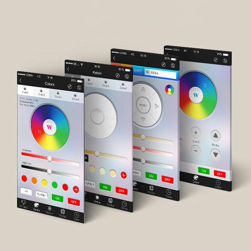 s luce ilight wifi controller zur steuerung per smartphone tablet wifi steuerung kaufen. Black Bedroom Furniture Sets. Home Design Ideas