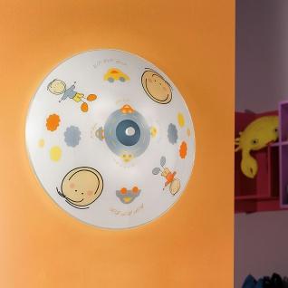 Eglo 88972 Junior 2 Wand- & Deckenleuchte 2-flammig Ø 39, 5cm Motiv Junge