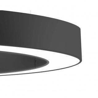 Panzeri L08102.080.0102 Golden Ring LED-Hängelampe Ø 78cm ind.-dir. Schwarz