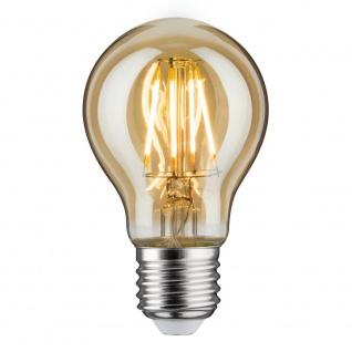 Paulmann LED AGL 5W E27 Gold Warmweiß 28374