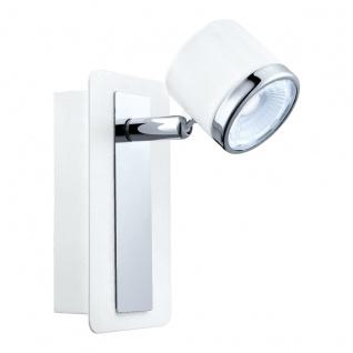 Eglo 94556 Pierino 1 LED Spot 1 x 5 W Stahl Weiss Chrom