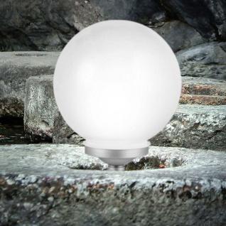 LED Solarkugel Force Ø 25cm Solar Gartenlampe Gartenleuchte