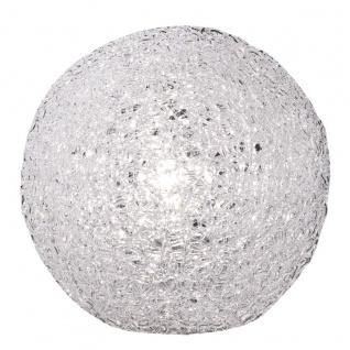 Wofi Toledo Tischleuchte Weiß Tischlampe