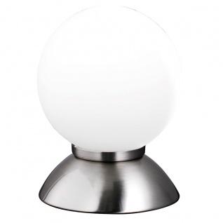 Wofi Pluto Tischleuchte Nickel matt Tischlampe