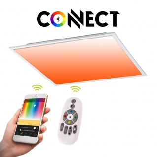 Connect LED-Panel 60x60cm 4300 Lumen 34W RGB+CCT LED Deckenlampe Deckenleuchte