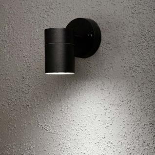 Konstsmide 7572-750 Modena Aussen-Wandleuchte Schwarz klares Glas Reflektor - Vorschau 1