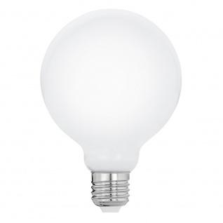 E27 LED Glühbirne Milky Ø 9, 5cm 8W, 1055lm Warmweiß